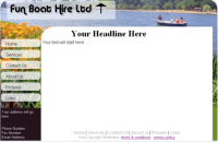 free html web site template