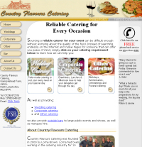 wedding catering scotland