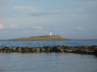 Kildonan Isle and Lighthouse