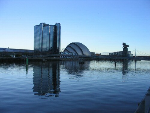 The Moat Hotel and Clyde Auditorium