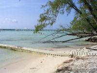 A view along the beach