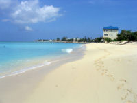 Picture of the beautiful beach