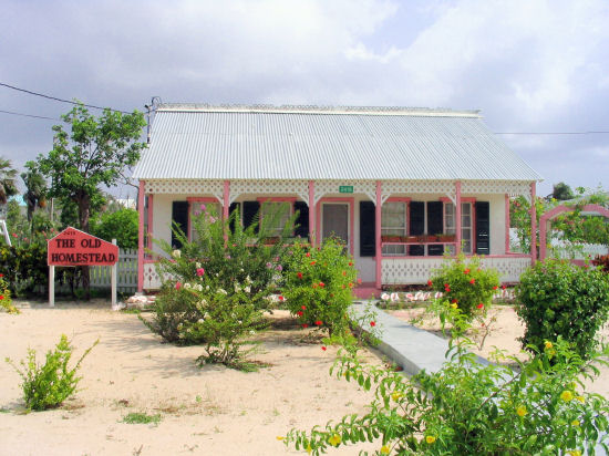 A picture of The Old Homestead, West Bay, Grand Cayman.
