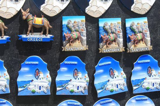 Donkey Fridge Magnets Oia Santorini Greece Web