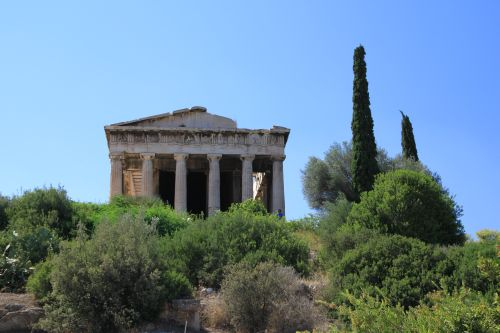 Picture of the View From The Back  of Temple Of Hephaestus - Athens, Greece