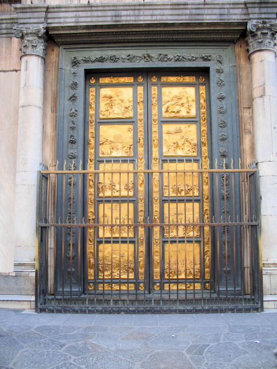 The Gates of Paradise, Battistero di San Giovanni, Florence