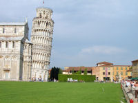 The Leaning Tower of Pisa , Tuscany
