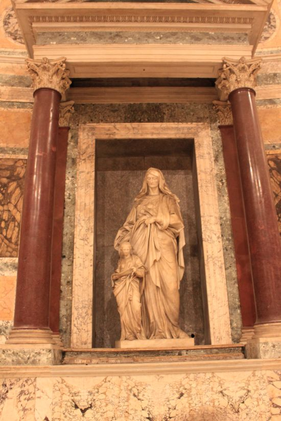 St Anne And The Blessed Virgin Mary At Pantheon Rome Italy Web Design Glasgow Seyeneco
