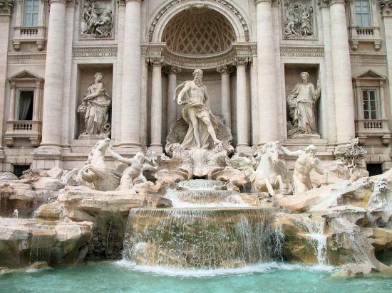 Trevi Fountain (Fontana di Trev), Rome