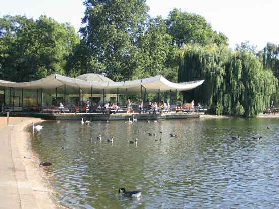 A Picture Of Restaurant At The Serpentine In Hyde Park