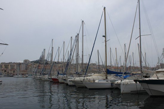Yachts At The Old Port Of Marseille France