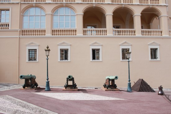Monaco Palace Cannon And Balls, France
