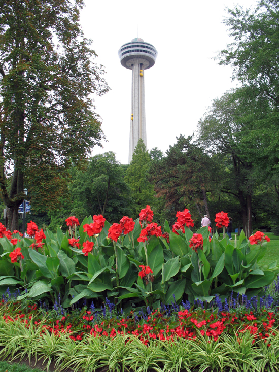 Picture of  The  Skylon Tower Niagara Falls Ontario  is shown on this page.