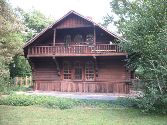 Picture of  The Swedish Cottage, Central Park, New York, USA is shown on this page.