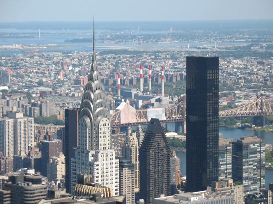 Chrysler Building New York. The Chrysler Building viewed