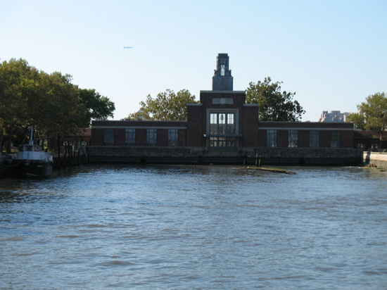 Picture of  The The Pier at Ellis Island, New York, USA is shown on this page.