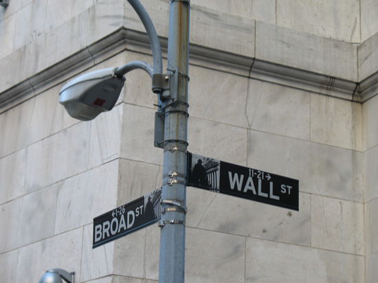 Picture of  The Wall Street Sign, New York, USA is shown on this page.