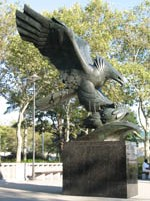 War Memorial at Battery Park, New York, USA