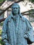 John Watts Statue at Trinity Church, New York, USA