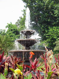 Fountain at Fort Santiago, Manila, The Philippines