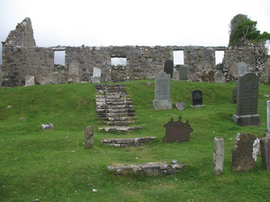 the stairs kilchrist church isle of skye picture