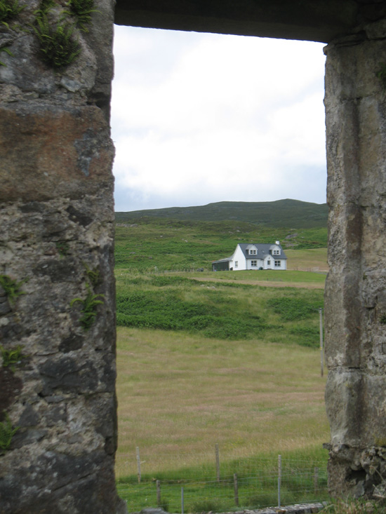 view of cottage kilchrist church isle of skye picture