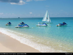 seven mile_beach jet skis