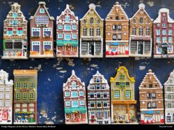 Free Fridge Magnets at the Flower Market, Amsterdam, Holland, Desktop Wallpaper