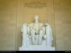 Free Lincoln Mmemorial, DC, USA, Desktop Background Wallpaper