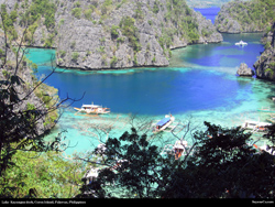 Free Lake Kayangan, Coron, Palawan, Philippines Destktop Wallpaper