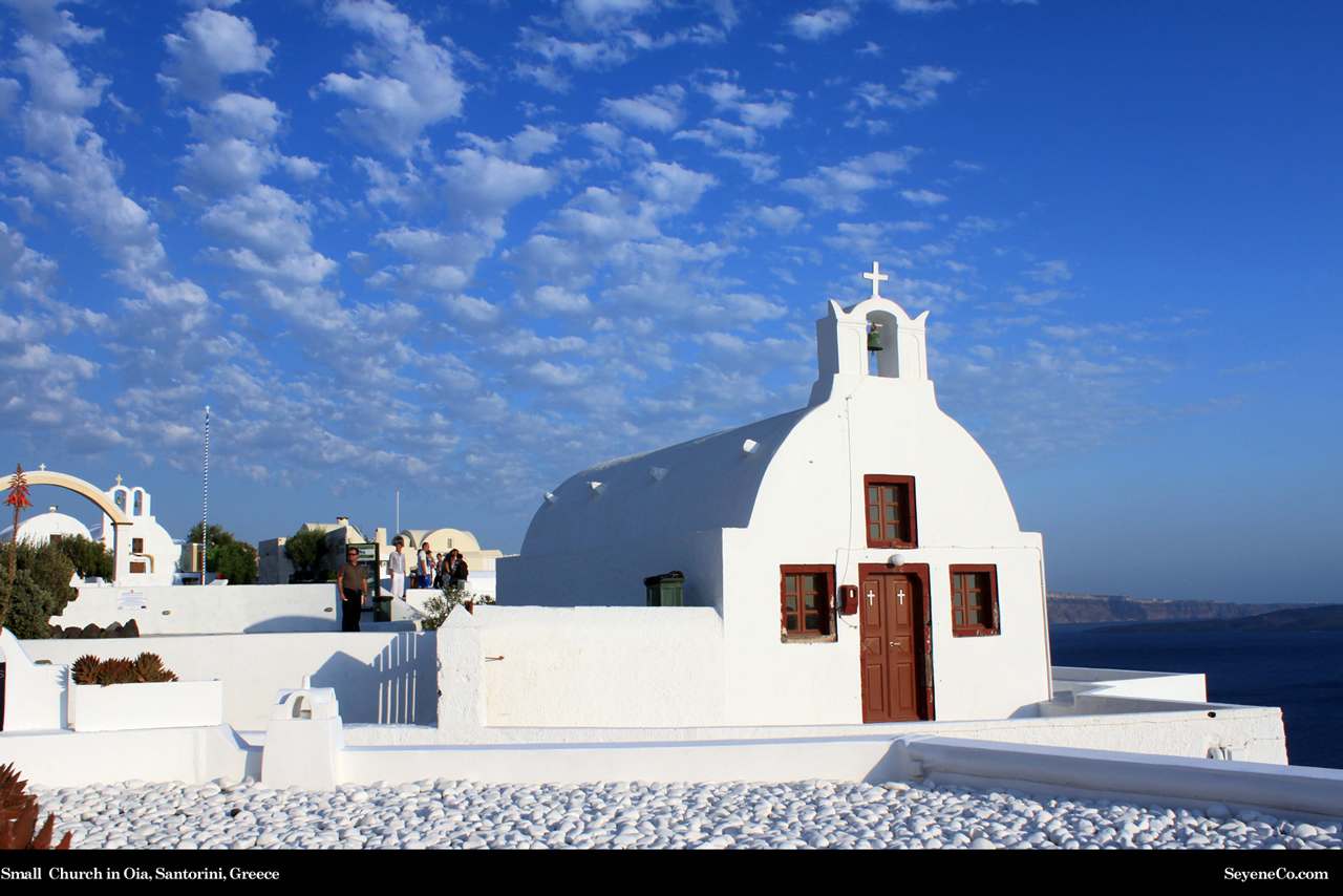 Free Santorini Greece Desktop Wallpaper From Web Design